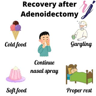 Recovery after adenoidectomy